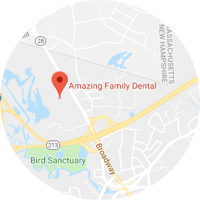 Amazing Family Dental Located Map Image 01