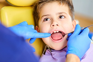A Child In Dental Treatment 01