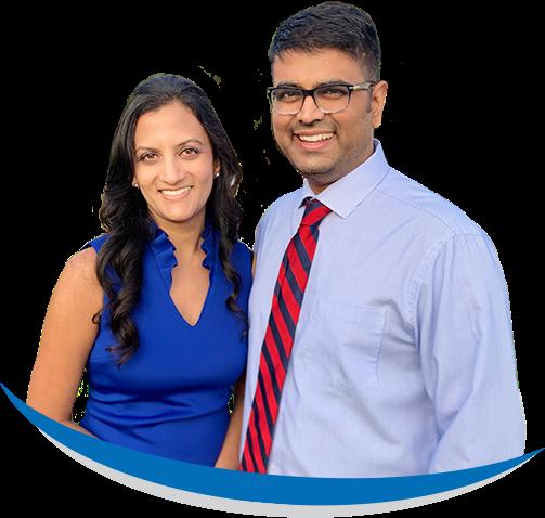 A Pose Of Dr. Niraja Patel & Dr. Jimish Patel 01
